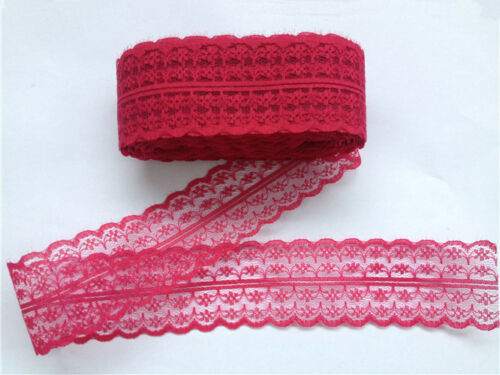 21 colors 10 yards net embroidery lace ribbon lace Bilateral free shipping