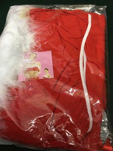 Size 28//30 Ladies 4 Piece Santa Outfit
