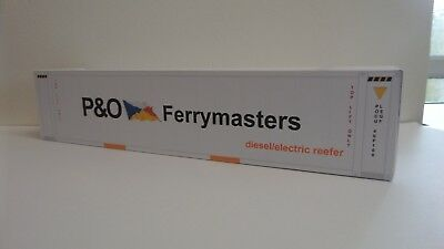 'o' Gauge (p&o Ferrymasters) Shipping Container X2