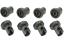 miniatura 3 - REX ELECTROLUX ZANUSSI KIT 16 RUOTE LAVASTOVIGLIE CESTELLO INFERIORE + SUPERIORE