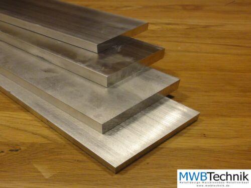 Alu Plat Tige 60 x 40 mm en AW 2007 AlCuMgPb flachstab plat matériau en aluminium