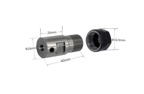 Spindle Motor Clamp Rod C16 ER11 35L 5mm Shaft Motor CNC Tool Holder