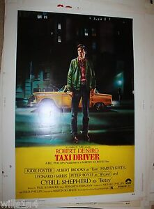Taxi Driver Original Vintage Movie Poster Rolled 1 Sheet ...