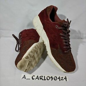 newest collection a486e 0d797 Details about Saucony Select Shadow 5000 Maroon Brick US size 8 S70339-1  Pre-Owned