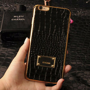 lowest price c15b7 5cd6d Details about Luxury Snake Crocodile Leather Phone Case Cover For iPhone 5  5s 6 6s Plus
