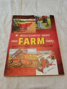 MONTGOMERY WARD VINTAGE 1965 FARM CATALOG TRACTORS CHICKENS