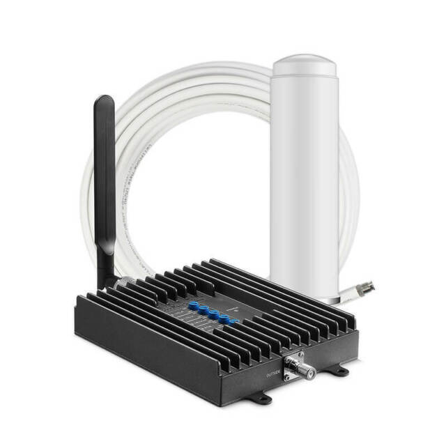 SureCall Fusion4Home 3G 4G LTE Cell Phone Signal Booster Kit Omni/Whip Antennas