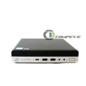 Details about HP EliteDesk 800 G3 Mini Core I7-6700T 2 8GHz 8GB RAM 1TB HDD  Win 10