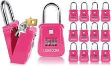 Lion Locks 1500 Key Storage Realtor Lockbox Set Your Own Code Lock Portable Key