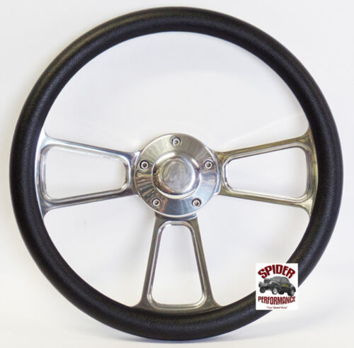 "1969-1987 Buick steering wheel 14/"" POLISHED BILLET"