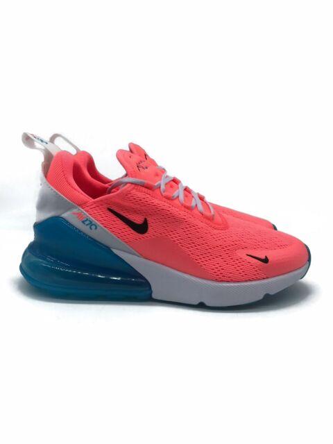 Nike Air Max 270 Pink White Blue Lava Glow Wmns Sz 6 5 Ci5856 600