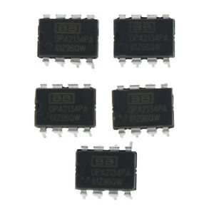 5Pcs-OP-AMP-IC-BB-TI-DIP-8-OPA2134PA-OPA2134-100-genuine-and-high-quality
