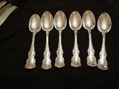 Oval Soup KING LOUIS International Sterling Silver Flatware s Dessert Spoon