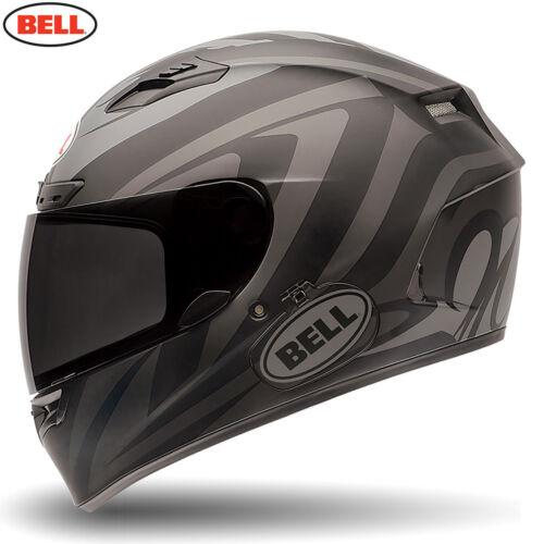 BELL Street /'Reactolite Visor/' Qualifier DLX Impulse Black Matt Motorbike Helmet