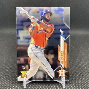2020 Topps Chrome Baseball Yordan Alvarez Rookie Card #200 RC Houston Astros