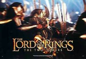 The-Lord-Of-The-Rings-the-Two-Towers-Gold-Helmet-Poster