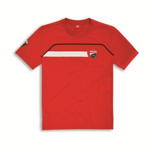 DUCATI Corse kids t-shirt Rosso Nuovo di Zecca originale