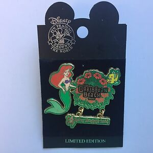 WDW-Happy-Holidays-2004-Caribbean-Beach-Resort-LE-1000-Ariel-Disney-Pin-34831