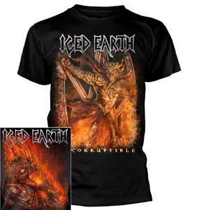Iced-Earth-Incorruptible-Shirt-S-3XL-T-shirt-Official-Heavy-Metal-Band-Tshirt