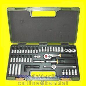 PROXXON-23280-Feinmechaniker-Ratschenkasten-mit-6-3mm-1-4-034-Antrieb-50-tlg-NEU