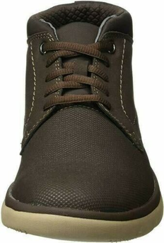 Tunsil Mid Clarks Men Lace Up Shoes