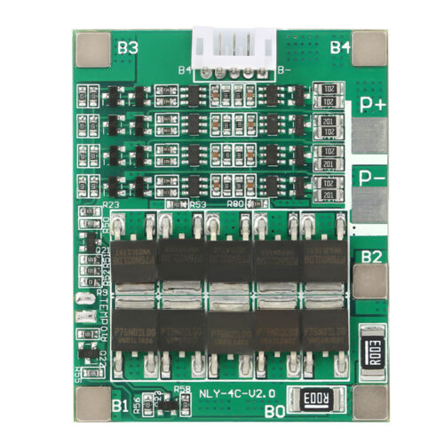 4S 50A 3.2V Lithium Battery Li-ion Charger Board Over Discharge Protect Module