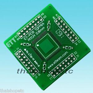 TQFP64-TQFP-64-Adapter-PCB-SMD-Convert-DIP