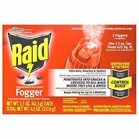 Concentrated Deep Reach Fogger - Kills Ants Roaches & Spiders By Raid