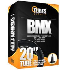 "20"" BMX Inner Tube 20"" x 1.75 to 1.90 Inch (47 - 406 Metric ) RRP £6.99 [D4-1]"