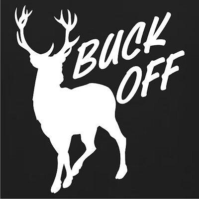 Funny Buck Off Deer Rack Hunting Hunter T-Shirt