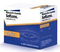 Soflens Toric 2x6er Box Monats-kontaktlinsen Bausch & Lomb Deutscher Handel