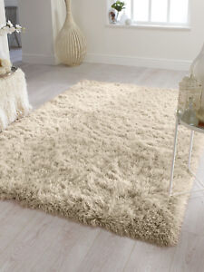 DAZZLE-SPARKLE-NATURAL-CHAMPAGNE-CREAM-SILKY-THICK-LONG-PILE-GLITTER-SHAGGY-RUG