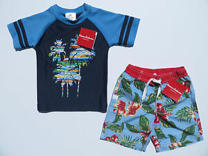Hanna Andersson 90 3T Boys Rash Guard Sunblock Tee Swim Shirt NEW Star Wars BB-8