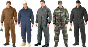 Image is loading Cold-Weather-Heavy-Duty-Insulated-Coveralls-Jumpsuit-Snow- a5436705c4fd