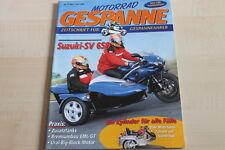 152043) Suzuki SV 650 Mobec Gespann - Motorrad Gespanne 57/2000