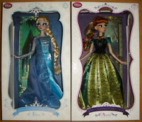 Disney Limited Edition Frozen 17 Anna And Elsa Doll 2 Doll Set Le 2500