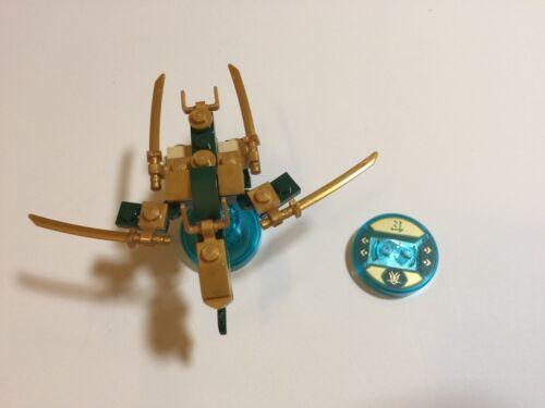 LEGO Dimensions Ninjago Golden Lloyd Fun Pack 71239 Dragon And Discs ONLY