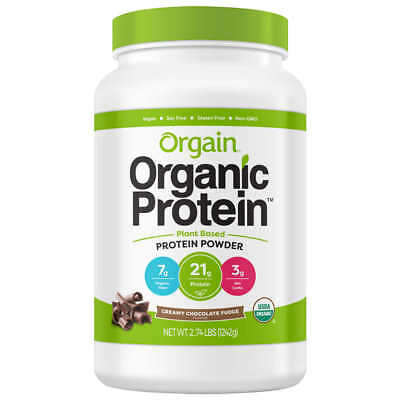 Chocolate Flavor 2.74-pounds Health & Beauty Earnest Orgain Usda Organic Plant Protein Powder Endurance & Energy Bars, Drinks & Pills