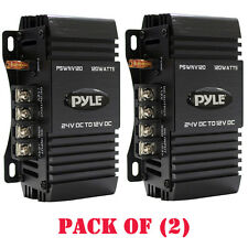 Pack of 2) Pyle PSWNV120 24-12V DC 120W Power Step Down Converter PMW Techn