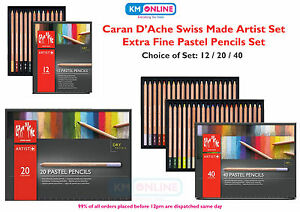 Caran D/'Ache Luminance 6901 Professional Colour Pencil Set Assorted 12 20 40