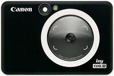 Canon - Ivy Cliq 2 Instant Film Camera - Black