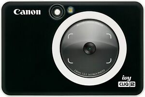 Canon - Ivy Cliq 2 Instant Film Camera - Black