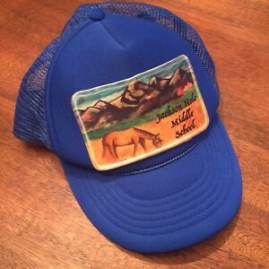 1a17ae153fa Image is loading Jackson-Hole-Middle-School-Wyoming-Patch-Horse-Tetons-