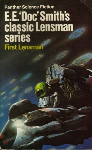 First Lensman (Panther science fiction) by E. E. Doc Smith 0586037799 The Cheap