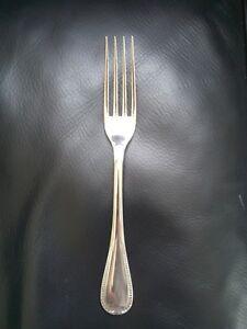 CHRISTOFLE-6-Fourchettes-de-table-metal-argente-modele-MALMAISON-style-EMPIRE