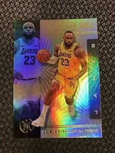 2019-20-Panini-Illusions-LeBRON-JAMES-Base-Card-Lakers