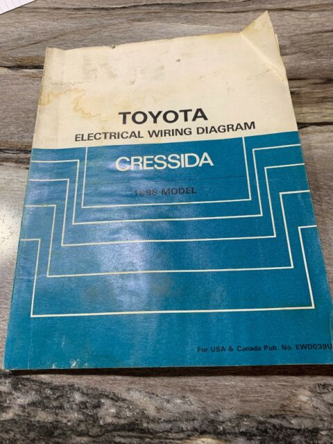 1988 Toyota Cressida Wiring Diagrams Electrical Service