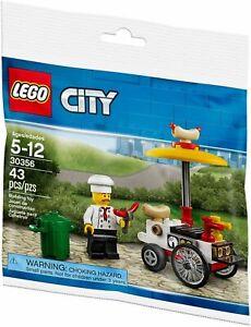 LEGO-CITY-30356-CITY-Hot-Dog-Stand-POLYBAG