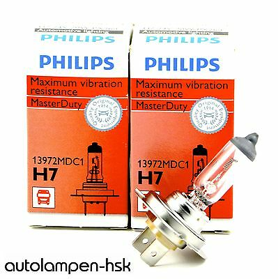 PHILIPS MasterDuty H7 24 V / 70 W 13972MDC1 2 Stück +++SONDERPREIS+++