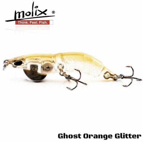 MOLIX LIPLESS HARD LURE SHRIMP HS 45
